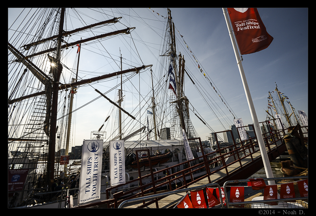 A festival of tall ships…