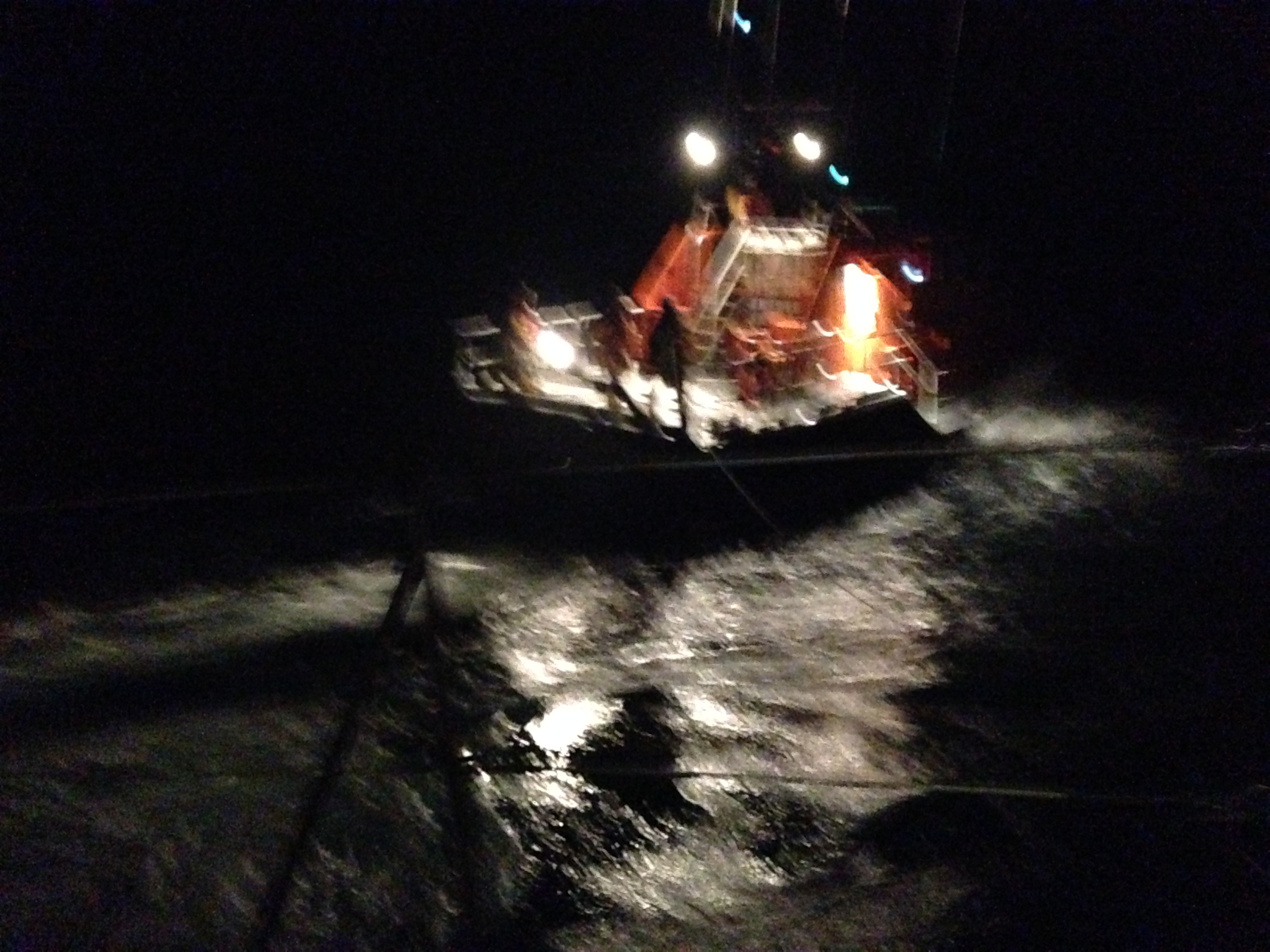 At night with the Celtic Sea & the RNLI…
