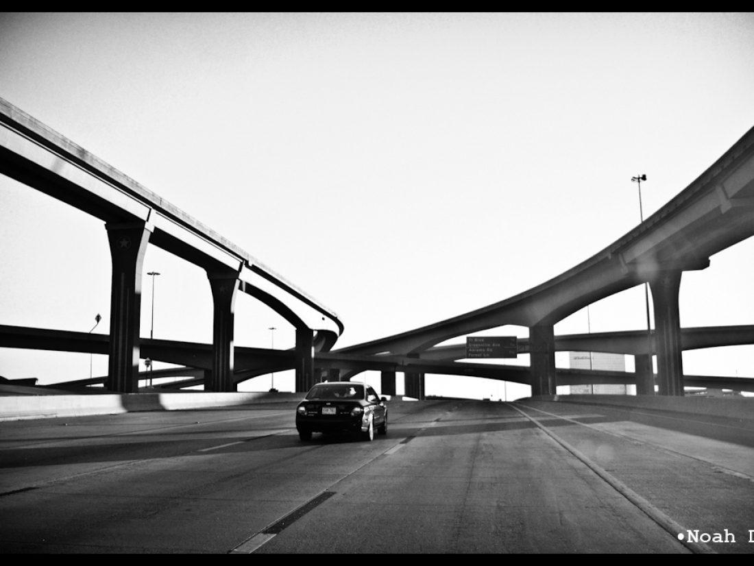 Converging roads…