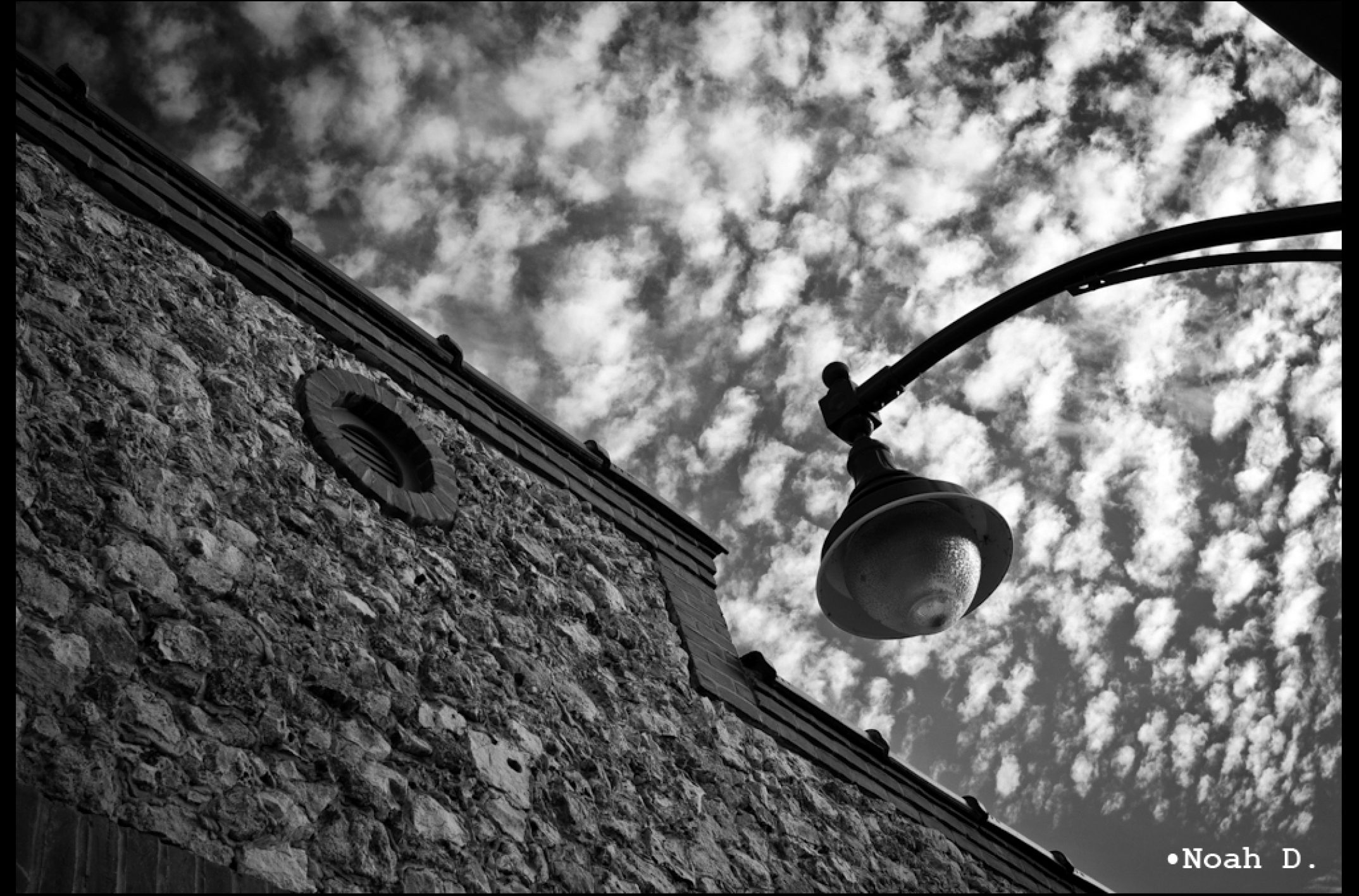 From one street lamp to another…