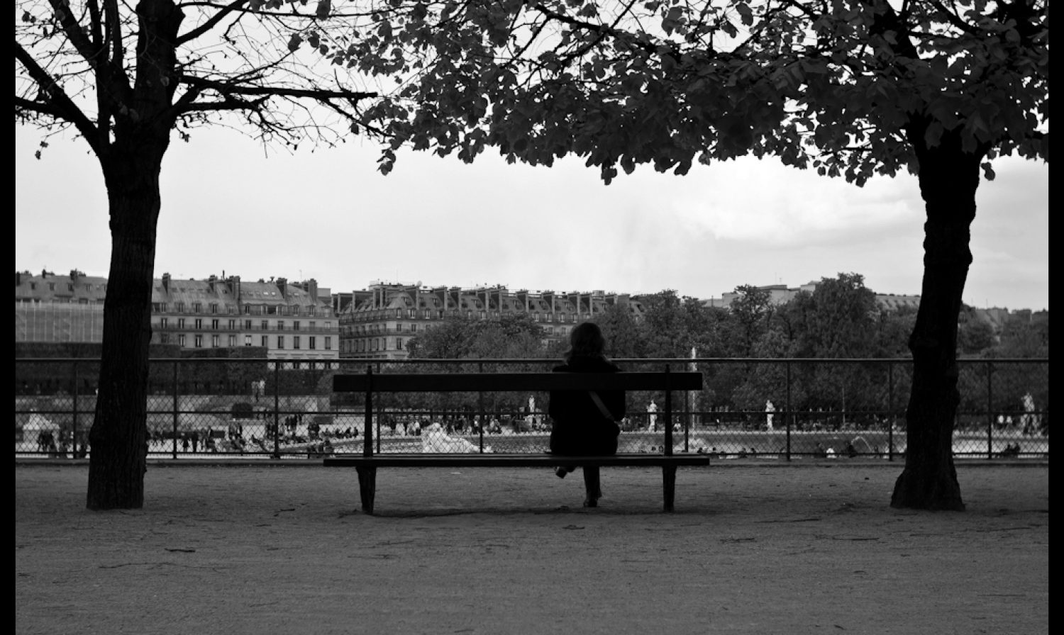 Tuileries and gardens…