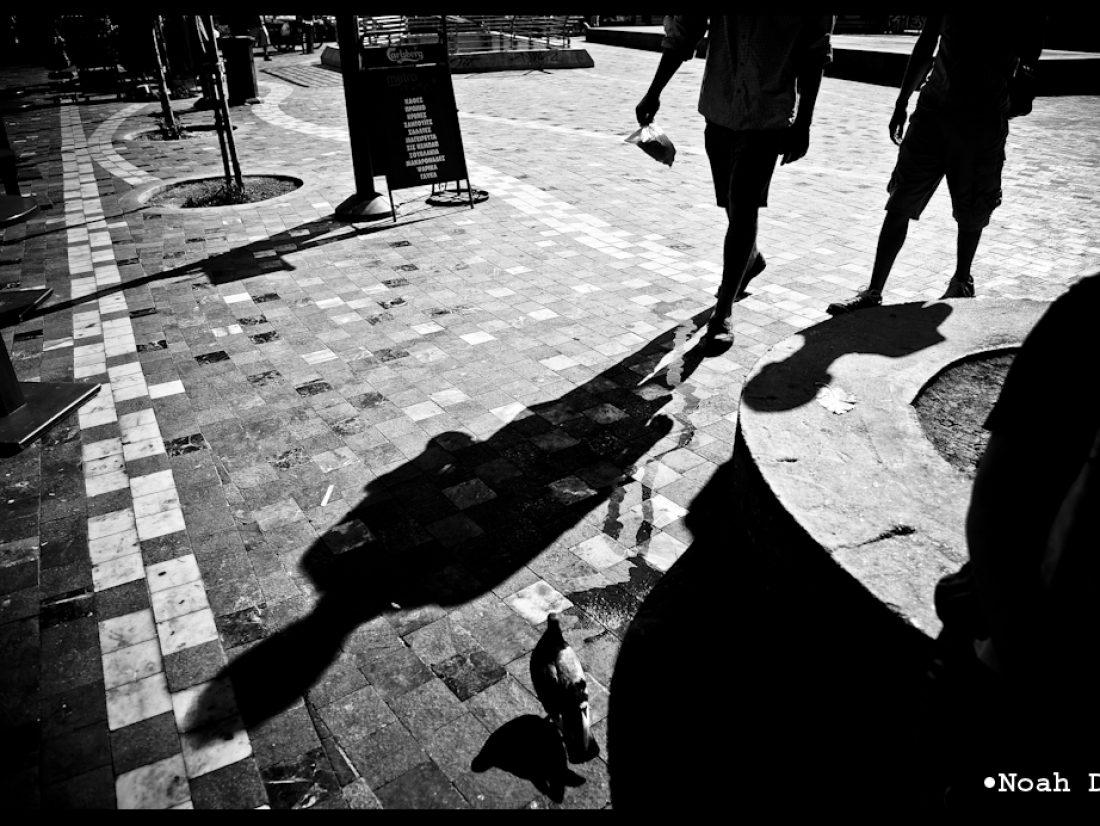 The market floor…