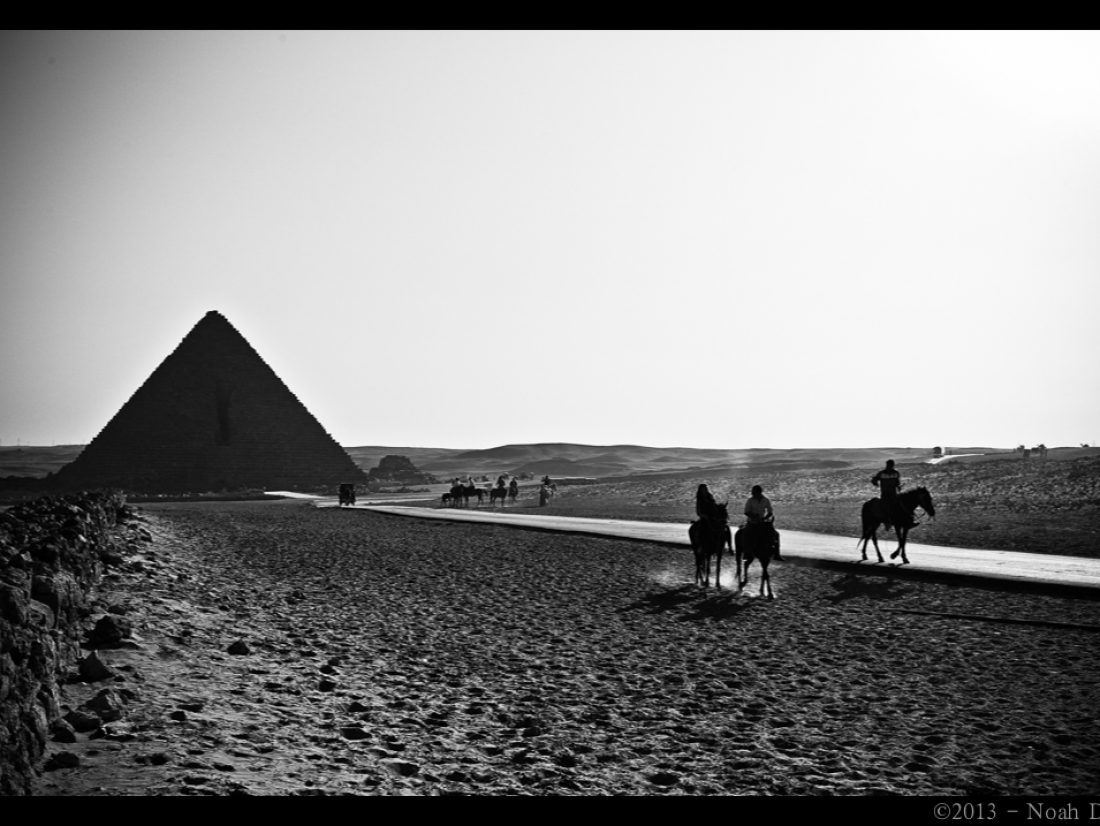 Pyramids, traffic, and a misunderstood world…