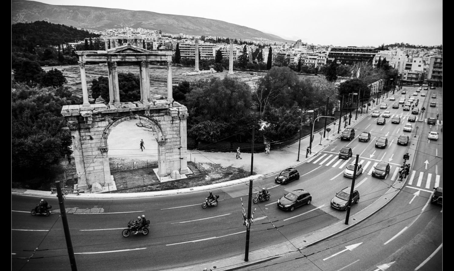 An active day in Athens…