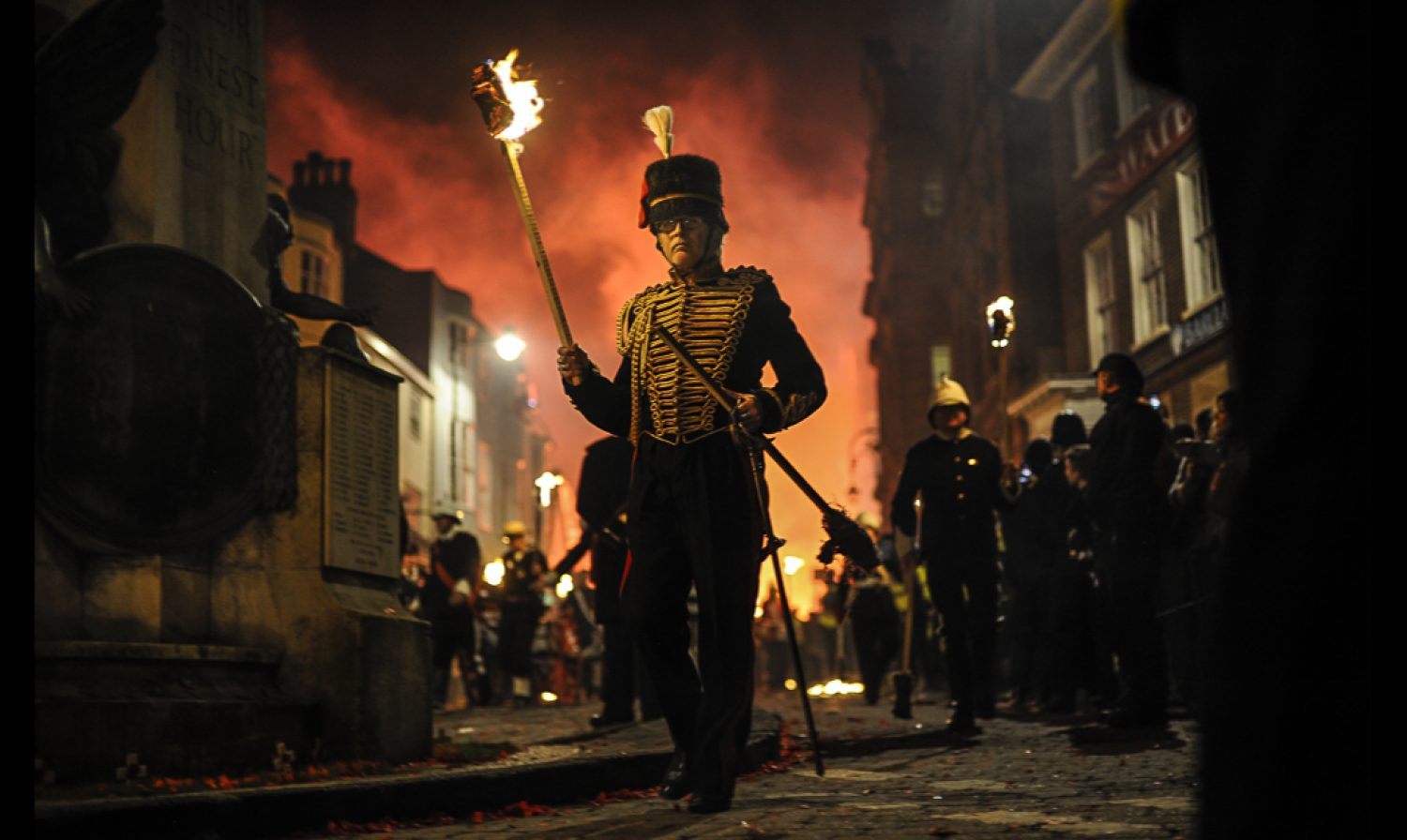 Loud noises, firecrackers, and burning effigies…