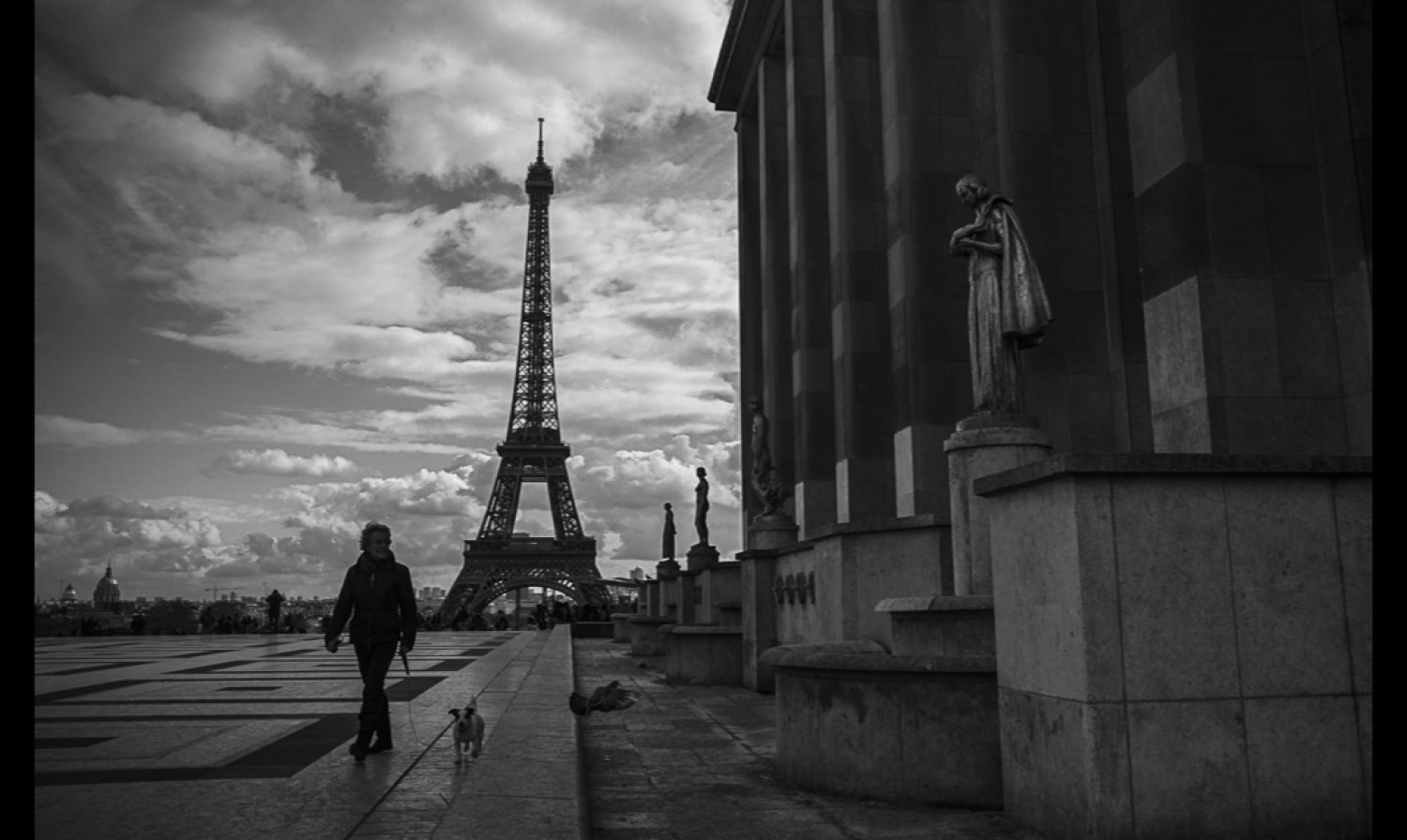 Four views of Le Tour Eiffel and an intimate moment…