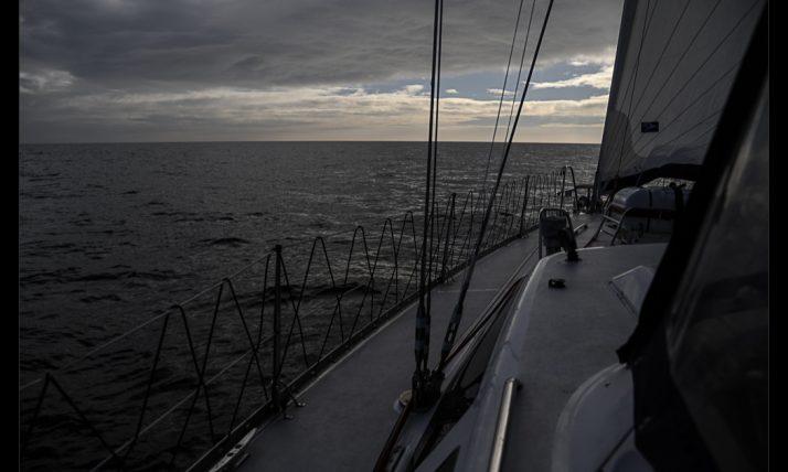 A solar eclipse at sea…