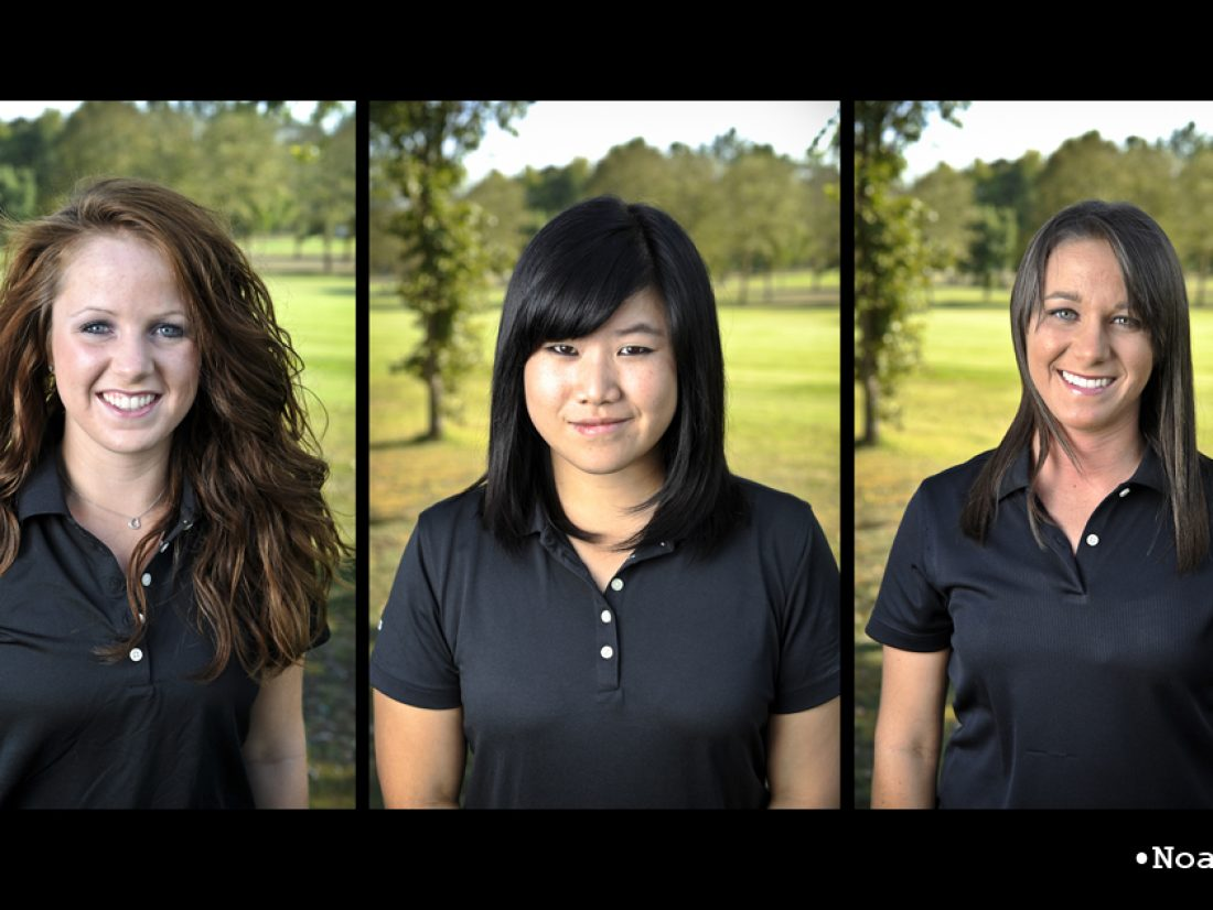 Golf with women…